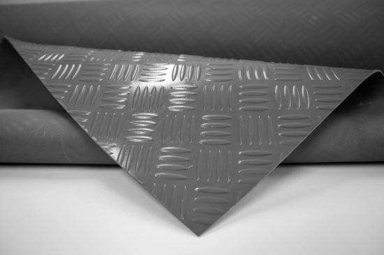 Wykładzina checker szara SCP PVC