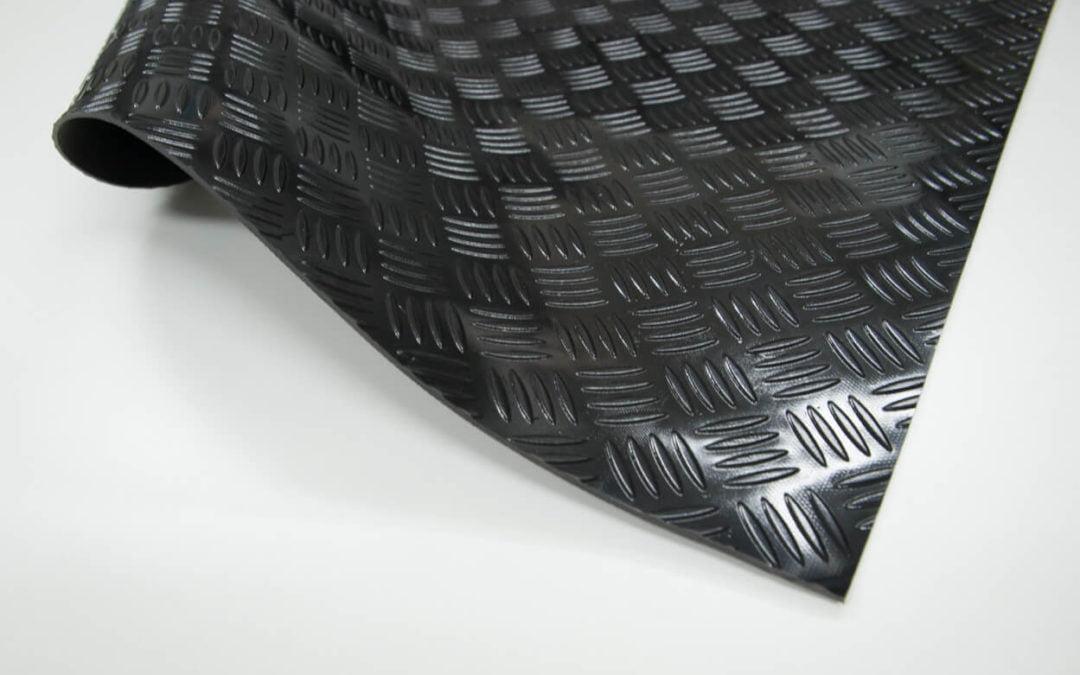 Wykładzina checker SCP 3 x 1200 x 1000 mm PVC czarny