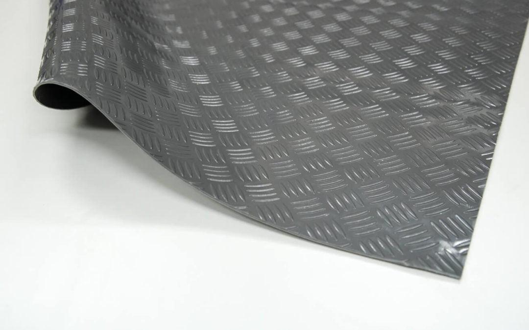 Wykładzina checker SCP rolka 3 x 1200 x 10000 mm PVC szary