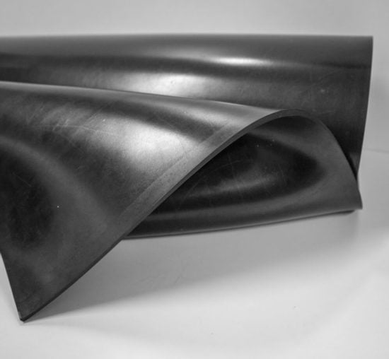 rolka cienka płyta gumowa arkusz sbr SCP