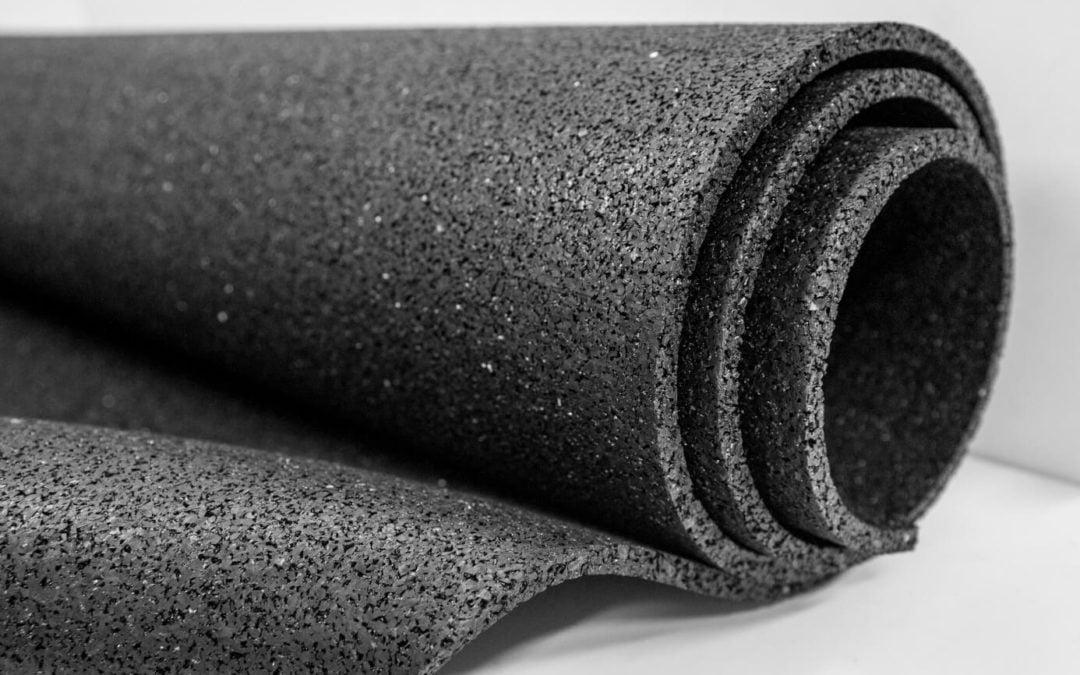 Mata gumowa SCP z regranulatu rolka 10 x 1000 x 10000 mm