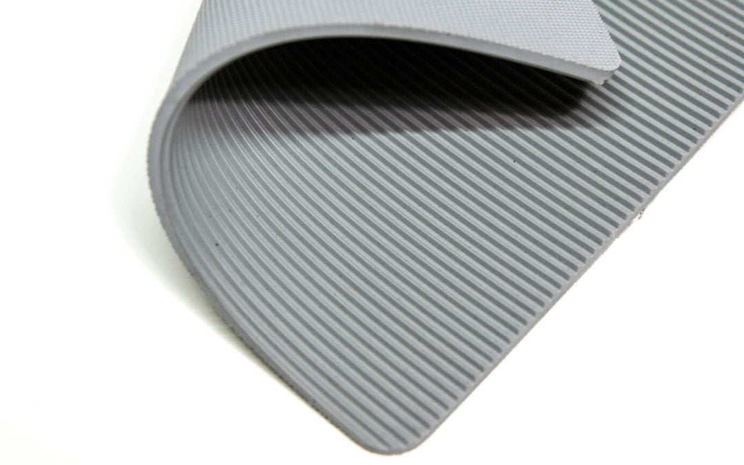 Wykładzina gumowa dielektryczna ryfel wąski Zenith Feniks 3 x 1000 x 1000 szary