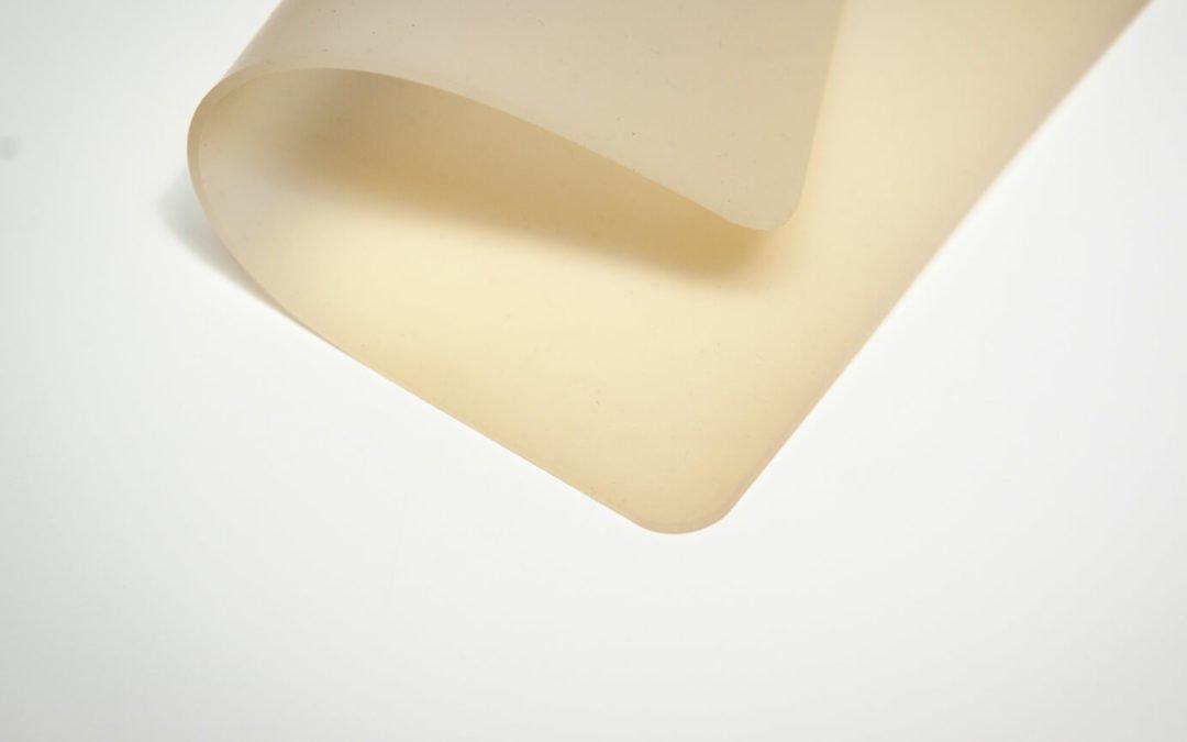 Płyta silikonowa 3mm Zenith Viking transparentna FDA szerokość 1,2m