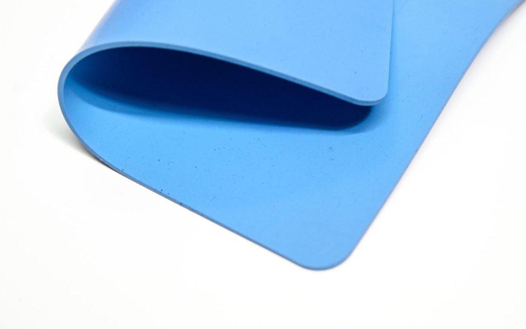 Płyta silikonowa 4mm Zenith Viking Blue FDA szerokość 1,2m