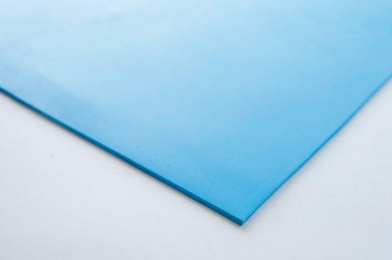Płyta gumowa silikon Viking blue Zenith