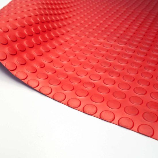 Wykładzina gumowa czerwona molet scp