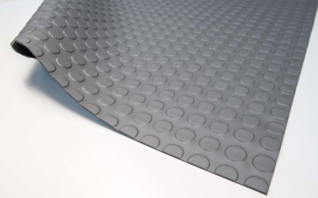 Wykładzina gumowa szary molet SCP 3 mm TPE szerokość 1,2 m