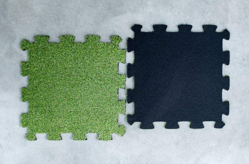 Sztuczna trawa SCP-400TP – 8 x 600 x 600 mm Puzzle