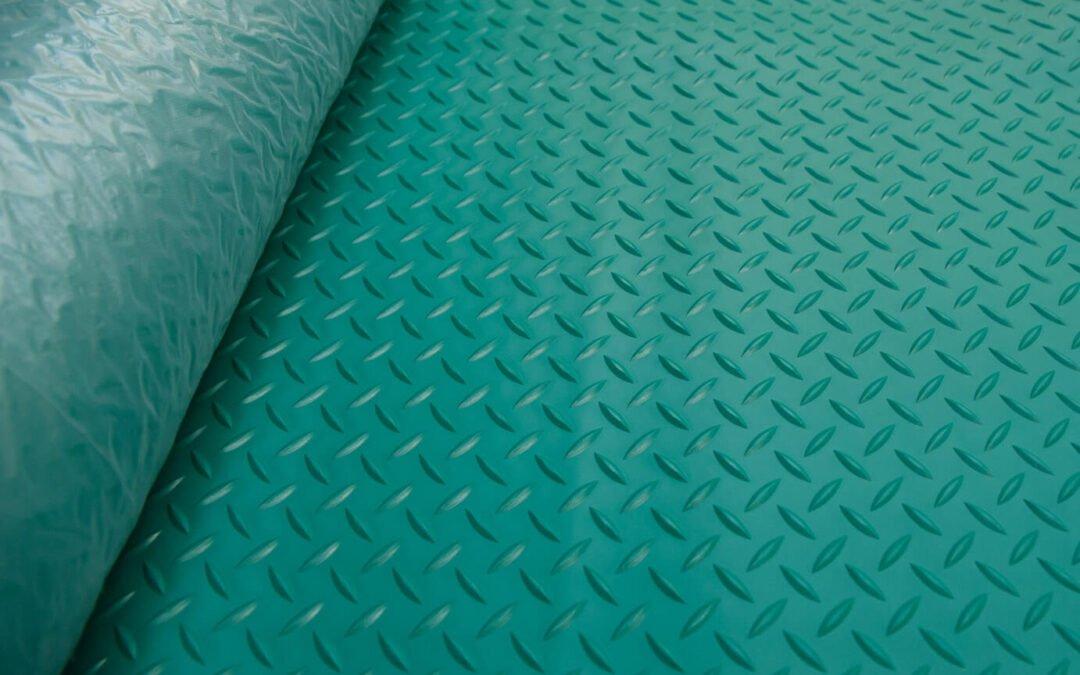 Wykładzina gumowa zielony młotek SCP 3 mm TPE szerokość 1,2 m