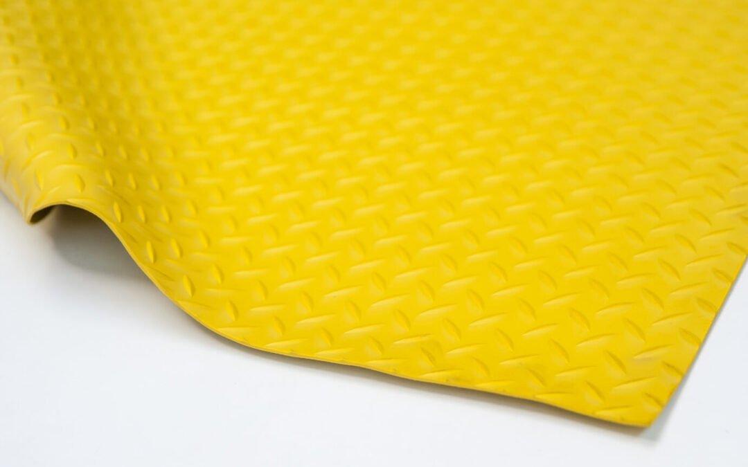 Wykładzina gumowa żółty młotek SCP 3 mm TPE szerokość 1,2 m
