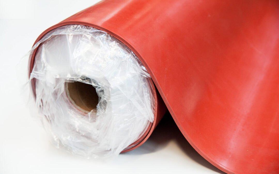 Płyta silikonowa czerwona/ceglasta SCP 10 mm szerokość 1,2 m