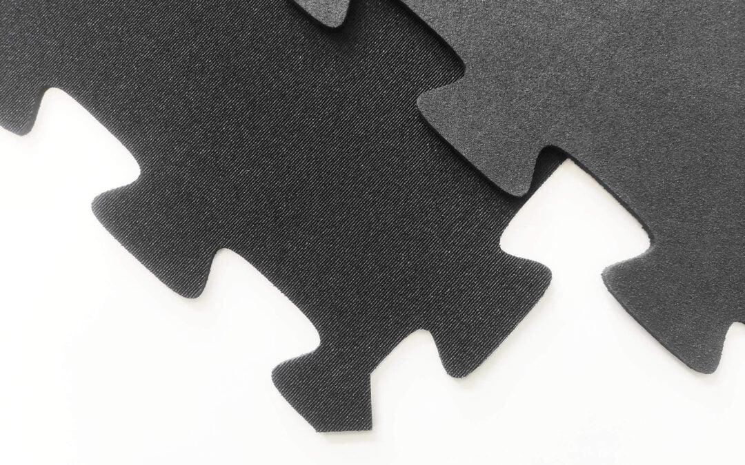 Mata gumowa SCP-400P – 6 mm 0,6 m x 0,6 m Puzzle